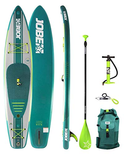 Jobe Duna 11.6 Aufblasbares SUP Board Paket, Mehrfarbig, One Size 11.6