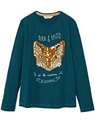 MANGO KIDS - Baumwoll-t-shirt mit T-Shirts pailletten