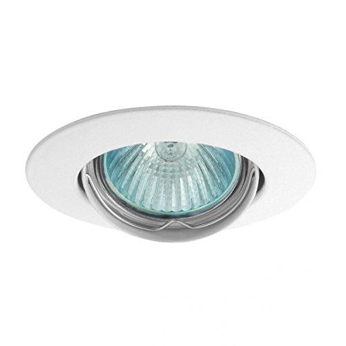 support-spot-rond-orientable-88-mm-4-couleurs-au-choix-finition-blanc