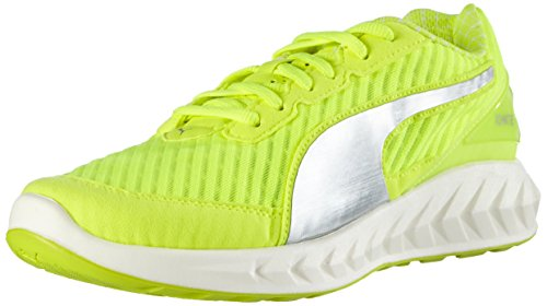 Puma Ignite Ultimate Pwrcool Wn's, Chaussures de course femme Jaune (Safety Yellow/Puma Silver 02)