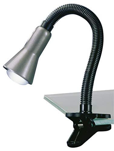 Trio Lampe LED à pince, couleur acier 5028010-47