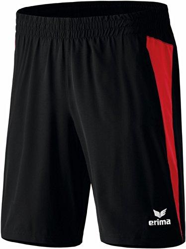 Erima Erwachsene Shorts Premium One Schwarz/Rot, S - Premium-slip Für Erwachsene