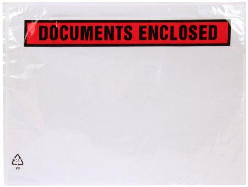 Purely - Buste stampate con chiusura adesiva, scritta in inglese
