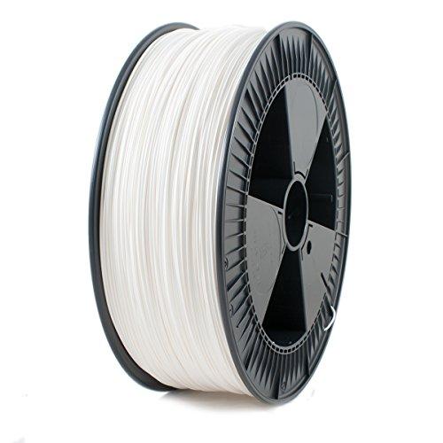 ICE FILAMENTS ICEFIL1PLA118 PLA Filament, 1,75 mm, 2,30 kg, Wondrous White