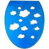 Outlook Design Italia V6V0100600 Clouds 6 WC Decor, Sticker de decoración para tapas de WC