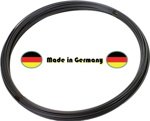 handel-und-service 55 m Spanndraht anthrazit 3,1 mm