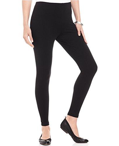 Kamaira Women\'s Cotton Leggings (Kamaira_al1__Black_Medium)