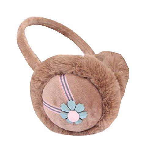 Mode warme Ohrenschützer für Kinder und Erwachsene [Brown] ()