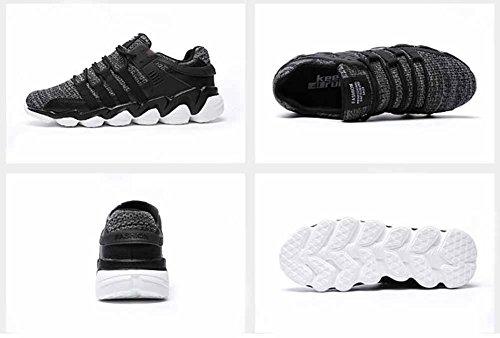 Uomini Traspirante Scarpe Da Corsa 2017 Autunno Nuovo Vita Bassa Formatori Sneakers All'aperto Gray