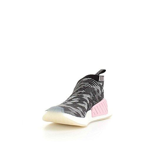 adidas Nmd_cs2 Pk W, Sneakers Basses Femme Noir (Core Black/core Black/wonder Pink F10)