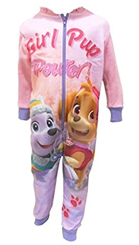 Paw Patrol Fleece Onesie Reversible Hood Pyjamas All In One
