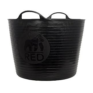 Decco Ltd Dicoal SP42GBK – Cubo Flexible Negro Gorilla 42l