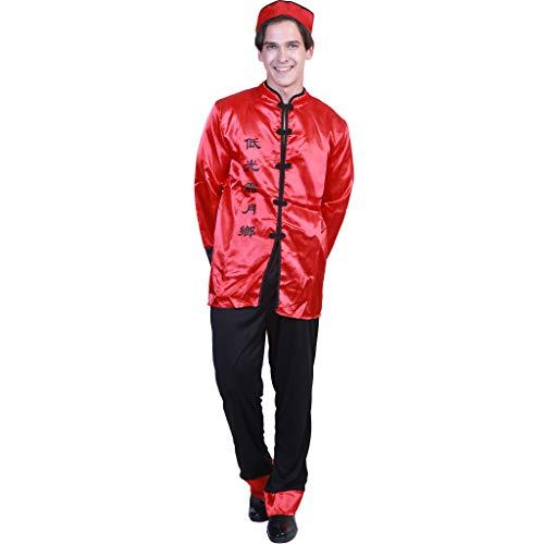 EraSpooky Erwachsene Chinesisch Gentleman Kostüm