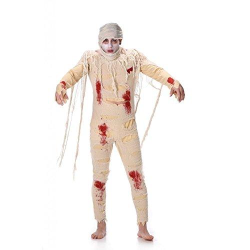 Karnival Costumes  - Ägyptische Mumie Kostüm für Herren Größe ()