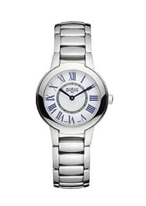 davosa Damen-Armbanduhr Analog Edelstahl weiss 16854522