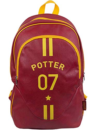 Bolso Oficial Mochila Harry Potter Quidditch Captain