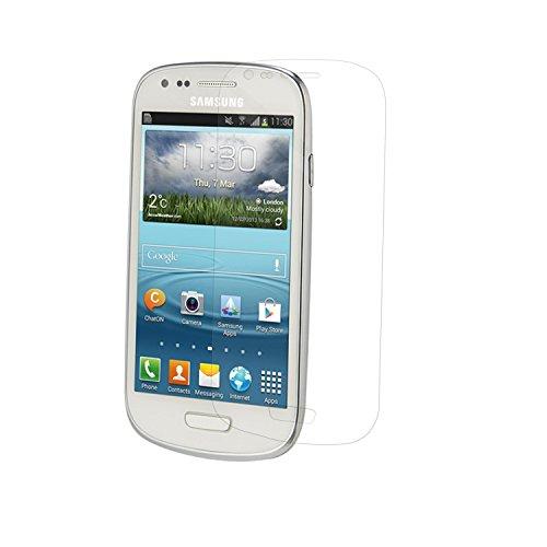 Simplecase Panzerglas passend zu Samsung Galaxy S3 Mini , Premium Bildschirmschutz , Schutz durch Extra Härtegrad 9H , Case Friendly , Echtglas / Verb&glas / Panzerglasfolie , Transparent - 1 Stück