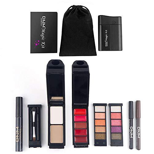 Knowledgi Makeup Kit - 8PCS Makeup Set Lidschatten Makeup Tools Chapstick Mascara Eyeliner...