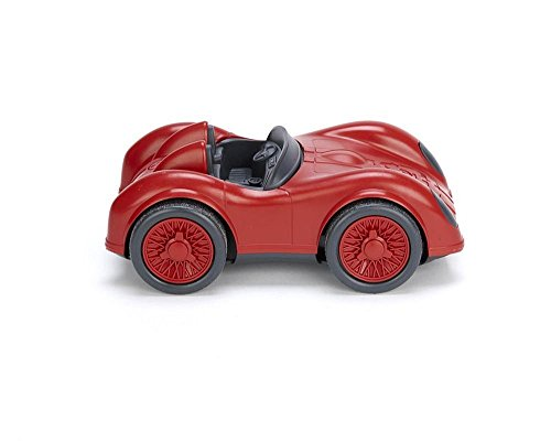 Green Toys RACB-1478 -Rennwagen, rot