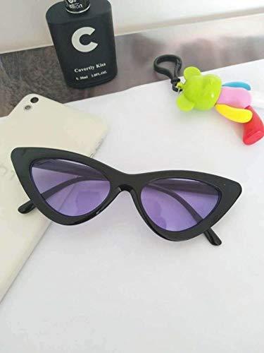 GuiSoHn-S Cat Eye Sonnenbrillen Floral Oval Sonnenbrillen Chic Women Eyewear UV400 Sonnenbrillen