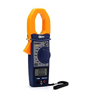 EONE VC3268P Multifunction Clamp Multimeter - Temp, Phase Sequence, Frequency, 30A/300A/1000A AC Measurements + Digital LCD