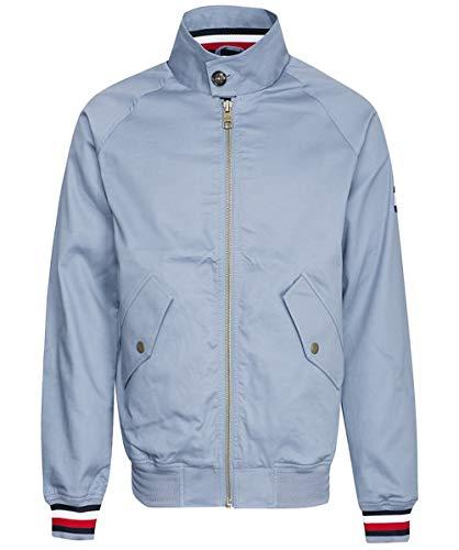 Tommy Hilfiger Herren Unterschrift Klebeband Harrington Jacke XL Blau (Klebeband-jacke)