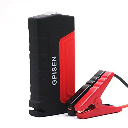 GPISEN Jump Starter 13600mAh Batería Arranque Kit 600A Arrancador Pack Para Coche (Batería Externa Recargable, LED…