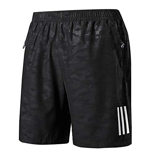 CHYU Pantalones Cortos Hombre Deporte Cortos Bolsa