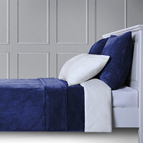 Natural Life Home Ultra Weich Antistatisch Fleece Queen Size Decken für Couch/Bett/Sofa 228,6x 228,6cm Queen 90