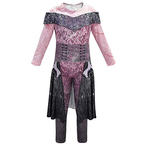 City Party Kostüm - QYS Party City Audrey Halloween-Kostüm für Mädchen, Nachkommen 3, inklusive Zubehör,150cm