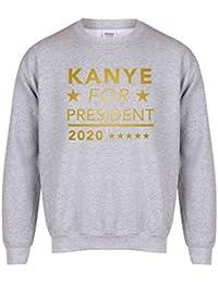 Kanye For President, 2020 - Unisex Fit Sweater - Fun Slogan Jumper
