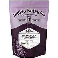 Indigo Herbs Semilla de Sésamo Negro Organico 1kg