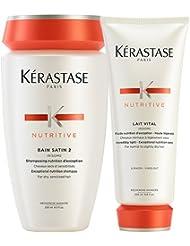 Kérastase–Kerastase Bain Satin 2& Lait Vital (Duo shampoing et après-shampoing)