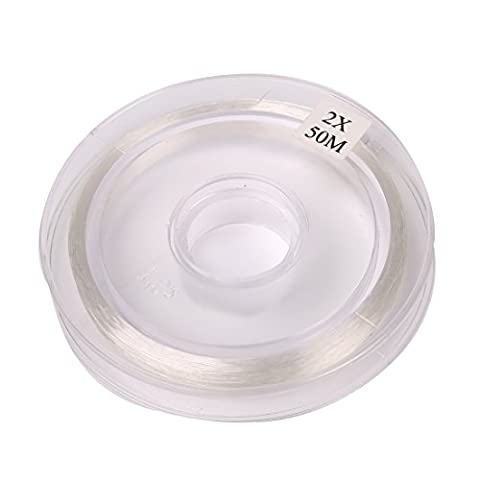 Andux Fly Fishing Freshwater Nylon Tippet F/ZX 50M-2X Clear