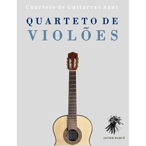 Quarteto de Violões: Cuarteto de Guitarras Azul