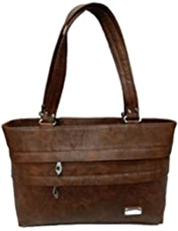 Linker Bags Form Brown Hand Bags (LB-45)