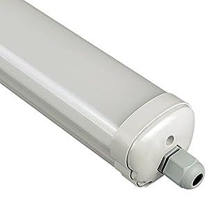 60cm 18W V-TAC LED Feuchtraumleuchte - LED Röhre IP65 4500K Tageslicht 1440Lm 120°