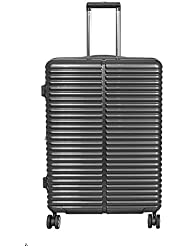Koffer Lyon Anthrazit Größe XL Polycarbonat Hartschale Reisekoffer Trolley Case Bowatex