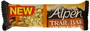 Alpen Chunky Nuts Trail Bar 46g (Pack of 12 bars)