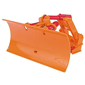 Bruder Plow Blade - Partes de Juguetes (Naranja, ABS sintéticos, 160 mm, 90 mm, 80 mm)