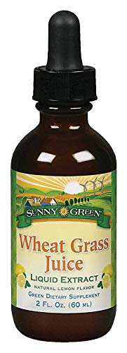 Wheat Grass Liquid Concentrate Sunny Green 2 oz Liquid