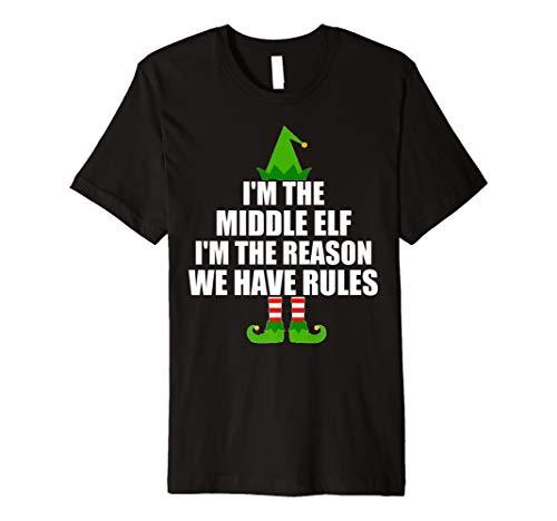 Ich bin der Mitte Elf Ich, der Grund Wir haben Rules T Shirt