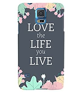 Citydreamz Love\Life\Live\Quotes Hard Polycarbonate Designer Back Case Cover For Samsung Galaxy Note 3