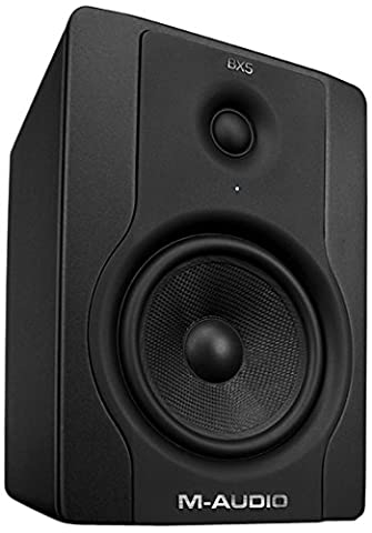 M-Audio BX5 (Single Speaker) Compact Active Studio Monitor for Music Production, Recording & Mixing