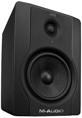 Preisvergleich Produktbild M-Audio BX5 Single Aktiver Bi-Amping-Studiomonitore und PC-sprecher (70-Watt, 1 Stück)
