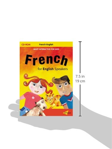 Milet Interactive For Kids Cd - French For English Speakers
