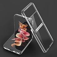 YoYoTech Case Designed for Galaxy Z Flip 3, Ultra-Thin Hard Transparent Premium PC Lightweight Protective Phon