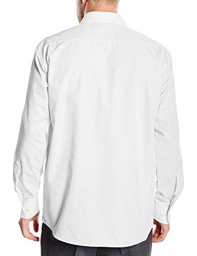 BlueBlack Herren Regular Fit Business Hemd Valerio, langarm, bügelfrei Weiß (Weiß 1)