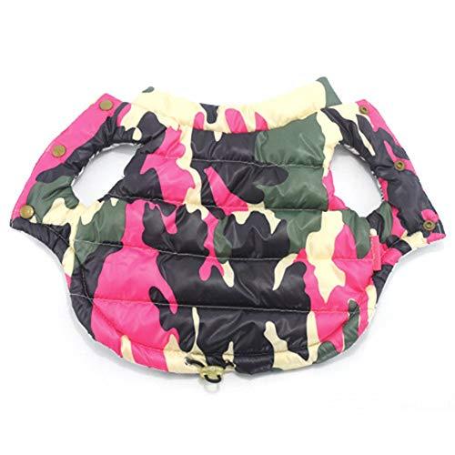 Hund Camouflage Jacke Mantel Doppelseitige Tragen Warme Weste Haustier Kleidung Für Welpen Kleine Hunde Chihuahua XXL