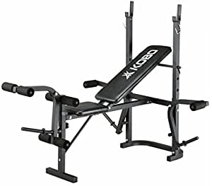 Generic Multi Exercise Weight Lifting Bench (Foldable) (5 In 1)